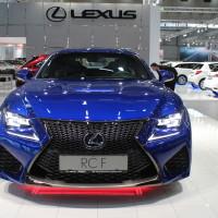 Vienna Autoshow 2015 Lexus RC F