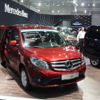 Vienna Autoshow 2015 Mercedes-Benz Citan