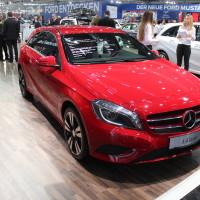 Vienna Autoshow 2015 Mercedes-Benz A-Klasse