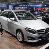 Vienna Autoshow 2015 Mercedes-Benz B-Klasse
