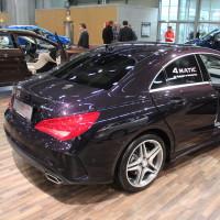 Vienna Autoshow 2015 Mercedes-Benz CLA 4Matic