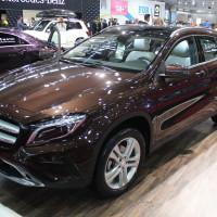 Vienna Autoshow 2015 Mercedes-Benz GLA 4Matic