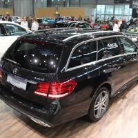 Vienna Autoshow 2015 Mercedes-Benz E-Klasse Bluetec