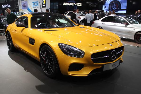 Vienna Autoshow 2015 Mercedes-Benz GT AMG