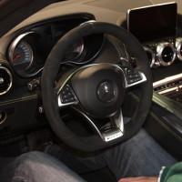 Vienna Autoshow 2015 Mercedes-Benz GT AMG Innenraum