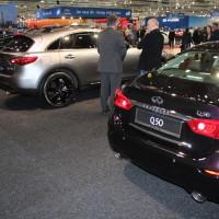 Vienna Autoshow 2015 Infiniti Q50 und QX70