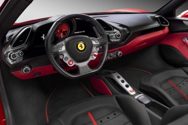 Ferrari 488 GTB Innenraum