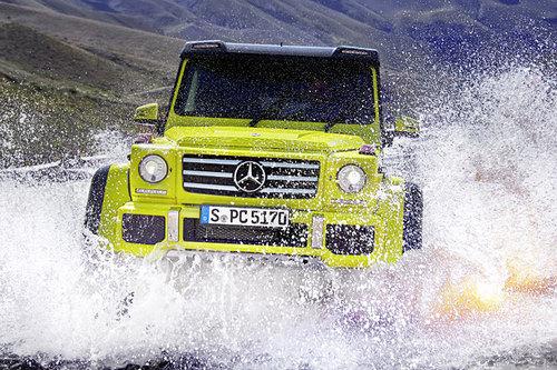 Mercedes G 500 4×4² Wahnsinn