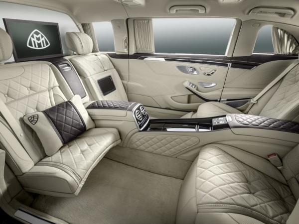Mercedes-Maybach Pullman Innenraum