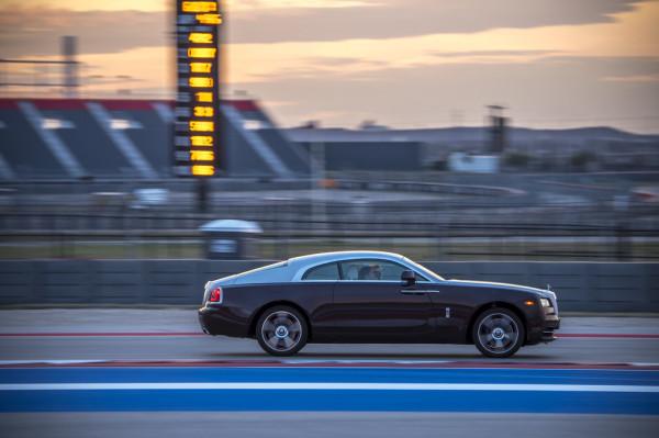 Rolls-Royce Wraith Rennstrecke