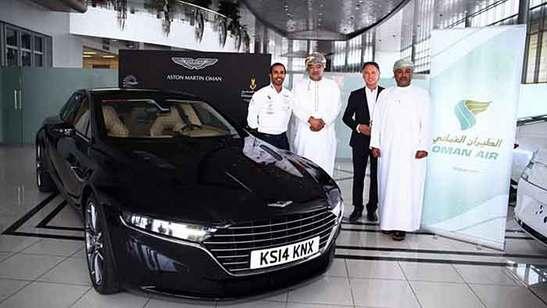 Aston Martin mit limitierter Luxuslimousine Lagonda Taraf