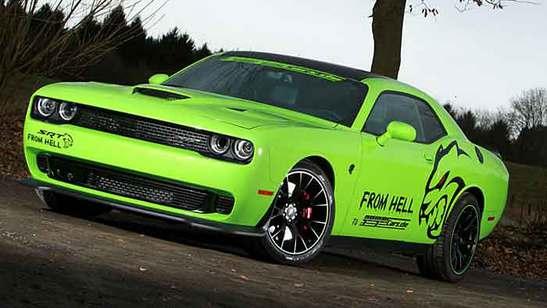 Dodge Challenger HTR Hellcat Geiger Cars