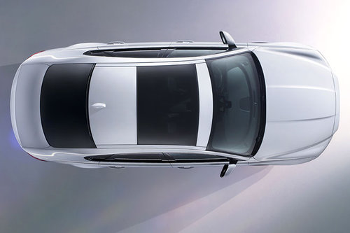 Spektakuläre Jaguar XF Präsentation