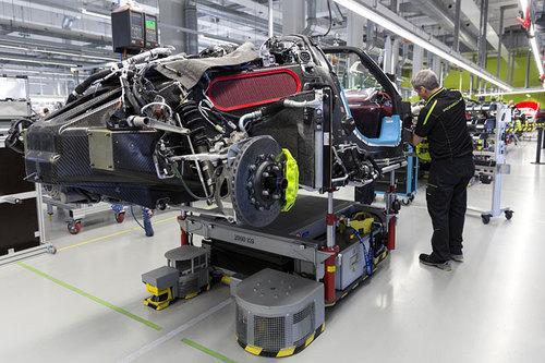 Porsche 918 Spyder  Montagebänder