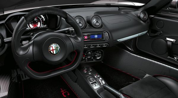 Alfa Romeo 4C Innenraum