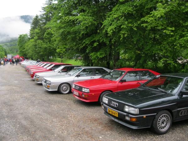 Audi quattro Legenden Fotos