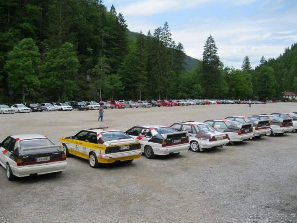 Audi quattro Legenden Treffen