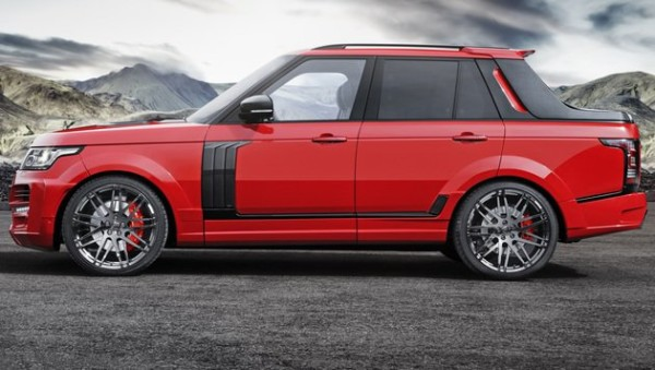 Range Rover Pick-up Startech Luxus