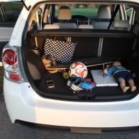 Toyota Verso Kofferraum für Familie