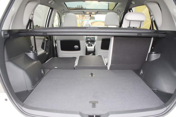 Toyota Verso Kofferraum Easy Flat System