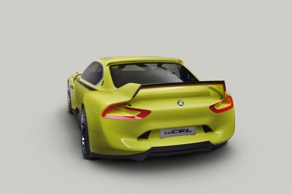 BMW-Studie 3.0 CSL Hommage Heckansicht
