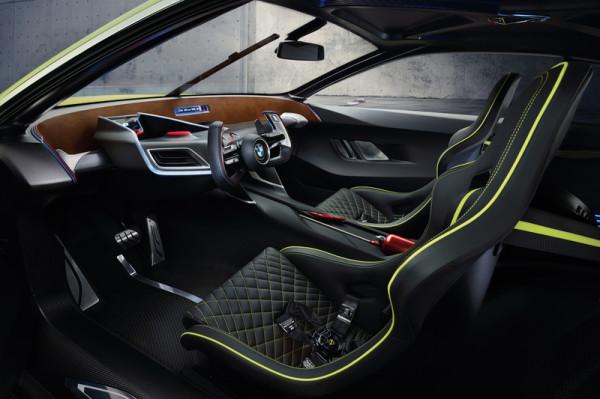 BMW-Studie 3.0 CSL Hommage Innenraum
