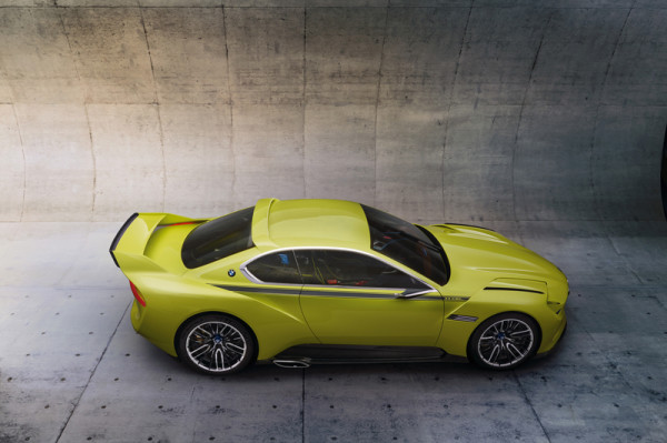BMW-Studie 3.0 CSL Hommage Seitenansicht