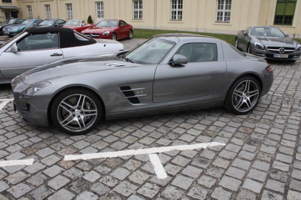 Mercedes-Benz SL Treffen Laxenburg 2015