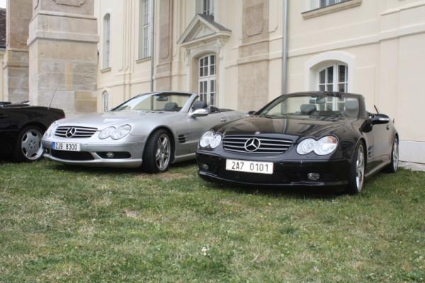 Mercedes Benz SL Treffen 2015 Laxenburg