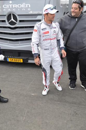 Nürburgring 24h Sebastian Loeb WTCC Citroen