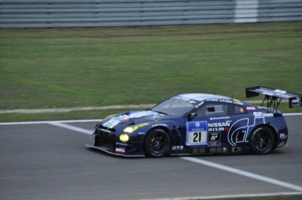 Nürburgring 24h Nissan GT-R Nismo GT3
