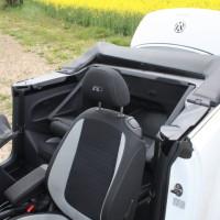VW Beetle Cabrio Kofferraum umgeklappte Sitze
