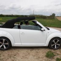 VW Beetle Cabriolet Dach öffnen