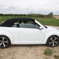 VW Beetle Cabriolet Verdeck geschlossen