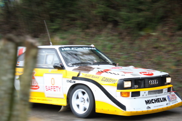 Audi quattro S1 Walter Röhrl Lavantal Rallye