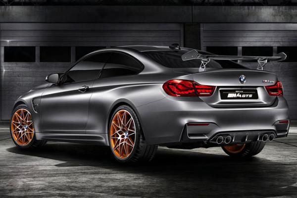 BMW M4 GTS Heck