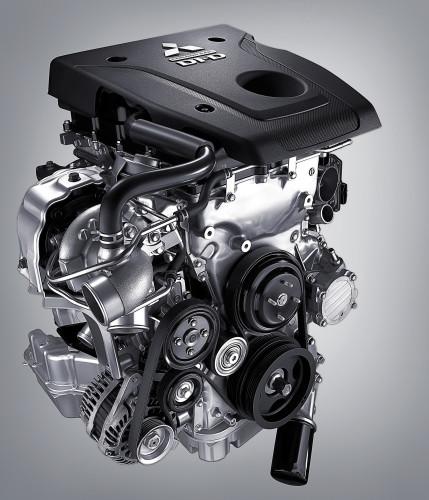 Mitsubishi L200 Motor MIVEC-engine