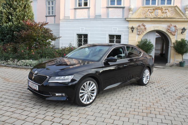 Škoda Superb – Tag 2 – Innenraum