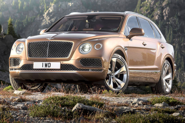 Bentley Bentayga W12 SUV