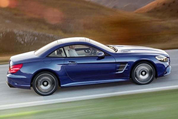 Mercedes-Benz SL Dach geschlossen