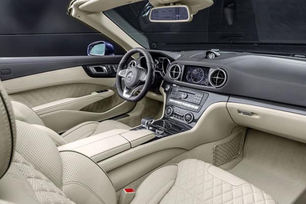 Mercedes-Benz SL Innenraum