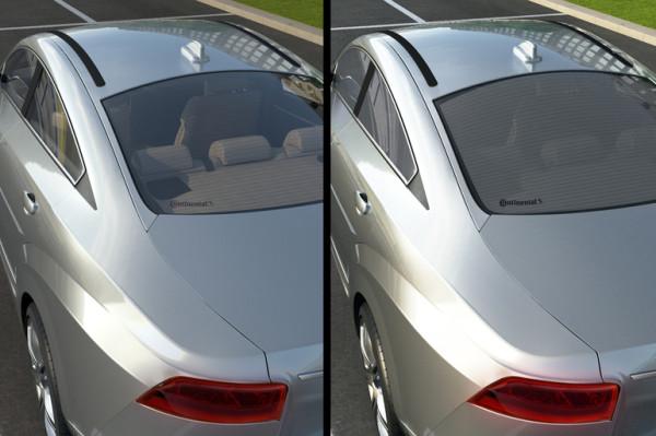 Intelligente Autoscheiben: Verdunkelung per Knopfdruck