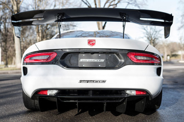 Dodge Viper ACR GeigerCars Heck Spoiler