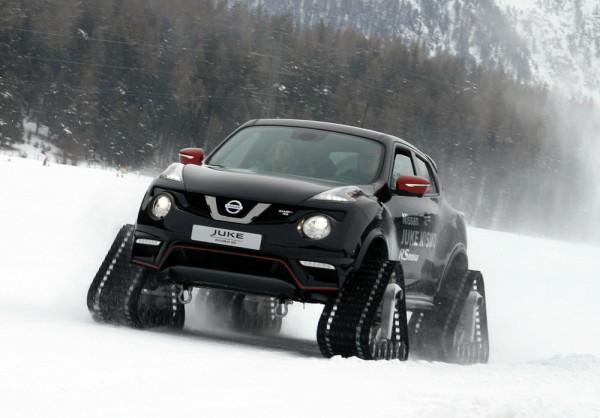 Nissan Juke Nismo RSnow Schnee