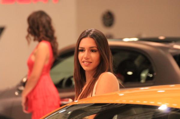 Vienna Autoshow 16 Hostessen, Messegirls Models
