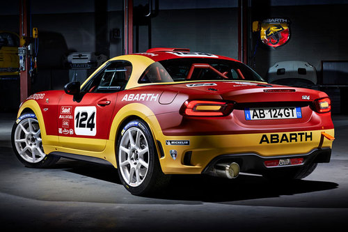 Fiat 124 Spider Abarth 124 Rally Auto