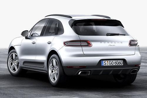 Porsche Macan Heck