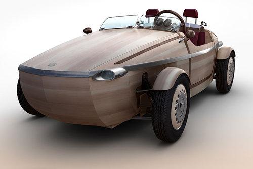 Außergewöhnliche Toyota-Studie aus Holz: Setsuna Concept