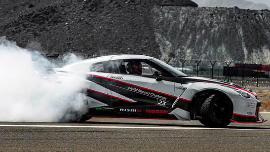Nissan GT-R Nismo Drift Weltrekord