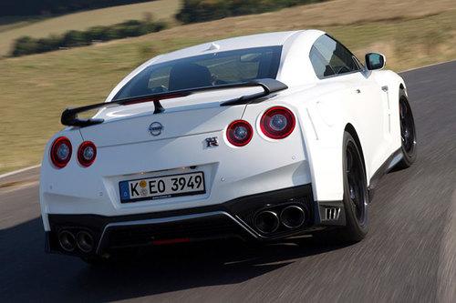 Nissan GT-R Track Edition Heck Diffusor